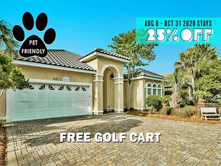 FREE Golf Cart, VIP Perks, $200 LiveWellCredit! Pool, Hot Tub, Gym (Communal)