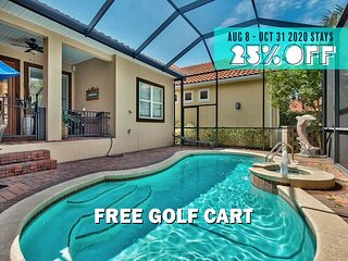 FREE Golf Cart, VIP Perks! Pool, $200 LiveWellCredit! Hot Tub, Gym (Communal)