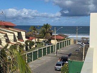 Apartamento frente de praia vista mar