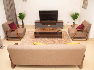 2 Bedroom Serviced Apartment for rent in East Airport, Accra.