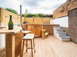 O17 endroit calme avec terrasse et bain nordique