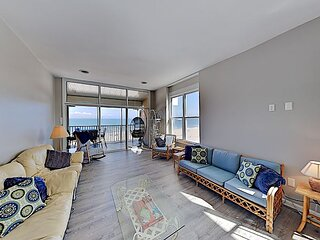 Renovated Beachfront Penthouse: Steps to Boardwalk, Dining, Entertainment
