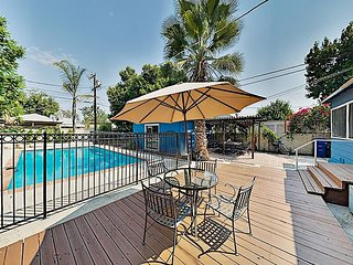 North Hollywood Retreat: Game Room & Lush Pool Oasis – Near Top Attractions!