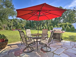 NEW! Wine Retreat w/ Patio, Zen Garden & Fire Pit!