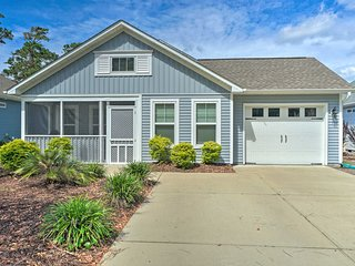 NEW! Modern Oak Island Home, 1 Mile to the Beach!