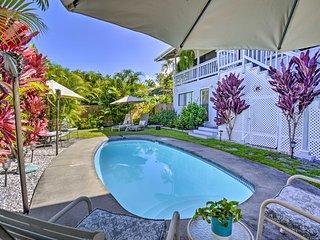 Tropical Kailua-Kona Retreat with Saltwater Pool!