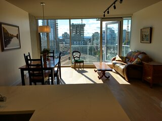 Beautiful New Condo Downtown Victoria With Parking