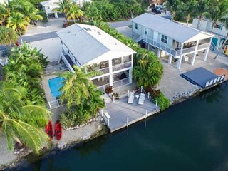 TROPICAL TREASURES - Beautiful Canal Front Home On Cudjoe Key With Quick Open Wa
