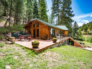 Colorado Bear Creek Cabins Creekside Log Home
