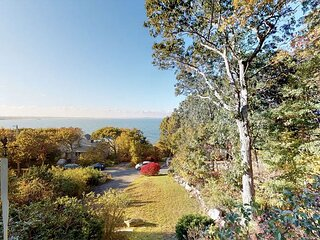 Private Waterfront Wonder with Stunning Ocean Views, Steps to Shoreline!