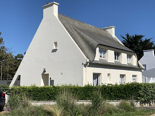 3 * Detached house near Ile de Batz - House with garden