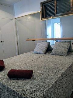 Habitación doble con camas indiviuales