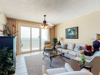 6th Floor Welcoming 6th-Floor Condo In Perdido Key! Gulf-Front Pool
