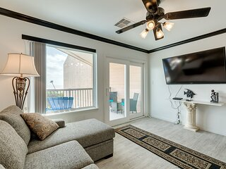 Newly renovated modern Gulf-front condo w/ ocean view and shared pools/hot tub!