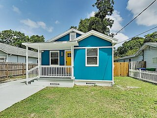 Lovely Old Seminole Heights Home with Grill, Alfresco Dining & Deck