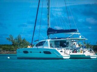 Sailing Catamaran in the Florida Keys, Sailing, diving, adventure experience.