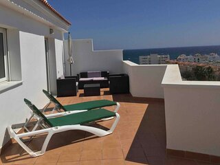 PENTHOUSE PLAYA,Terrasse 70M2, Wifi,TV Sat