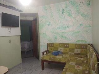 Apartamento na Praia de Taperapuan