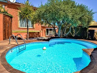 Nice home in Saint-Genies-de-Comola with Outdoor swimming pool, Outdoor swimmin