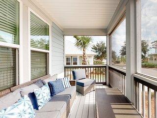 Inviting home near the beach w/ screened balcony, spacious interior, & free WiFi