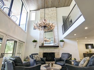 Dog-Friendly Home Near the River w/ a Gourmet Kitchen, Private Hot Tub, & Patio