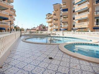 Beautiful apartment in Santa Pola with 1 Bedrooms (EBI326)