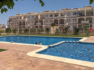 Stunning apartment in Orihuela with Outdoor swimming pool, WiFi and 2 Bedrooms (