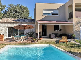 Awesome home in St. Marcel d'Ardeche with Outdoor swimming pool, WiFi and 4 Bed