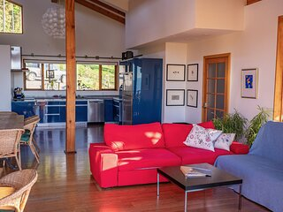 2-Bedroom Suite Bear, 4-8 guests, at Myra Canyon Ranch above Kelowna