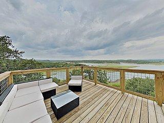 Modern Luxury Home | Three Lake-View Decks, Pools, Tennis & Boat Launch