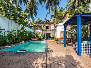 Mawi Villa 3BR with pool on Arambol Beach