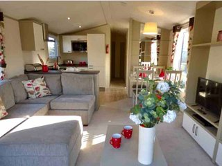 Luxury static caravan in beautiful Kippford