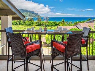 Stunning Ocean Views, Pool, AC, Hanalei Bay Resort 7307/08
