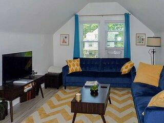 NEW! Modern Apartment < 1 Mi to Downtown Montclair
