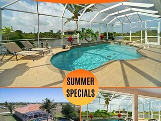 33% OFF! SWFL Rentals - Villa Ellis - Tommy Bahama Style Pool Home w/Gulf Access