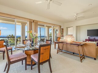 Mauna Kea Resort, Ocean Views, BBQ Grill, Beach Access, Luxurious, Kumulani (i4)