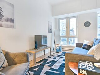 Liv MTL Save 60% Downtown 303 Luxurious 1Br Family + Pet Friendly*