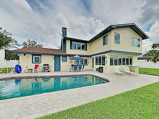 Luxury Waterfront Home with Billiards | Pool & Private Dock on the Gulf!