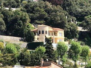 Luxury Castle Villa Monaco Border