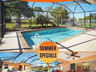 25% OFF! SWFL Rentals - Villa Luisa - Gorgeous 3 Bedroom Pool Home Sleeps 6