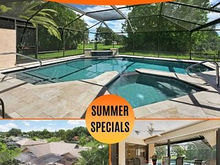 32% OFF! SWFL Rentals - Villa Milano - Beautiful Newly Rennovated Pool Home in P