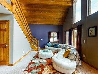 Modern, dog-friendly home w/private garage, yard, fire pit, deck & washer/dryer