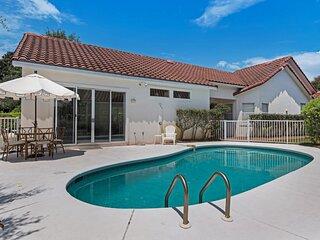 Waterfront villa w/ private pool & patio + shared hot tub, sauna, & tennis!