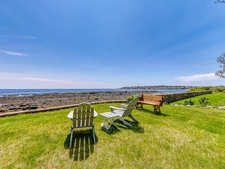 Family-friendly & inviting ocean-front home w/ views!