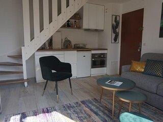 Appartement pour 4 personnes dans une résidence avec accès plage