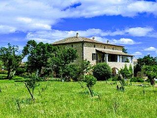 Magnifique mas cévennol du 19 ème siècle entre le Gard et l'Ardèche