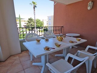Appartement T3 - 4/5 personnes - Climatisation - WiFi - Piscine residence