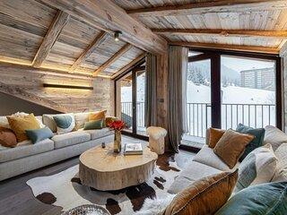 Magnifique et spacieux appartement situe en dernier etage
