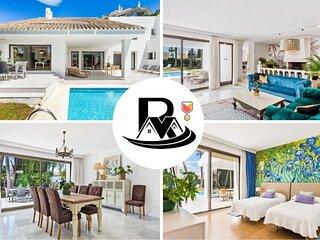 Luxury Villa Esmeralda With 5 Bedrooms, Close To Puerto Banús (7) ✔