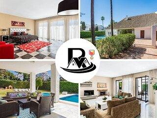 Beautiful Villa Azurita In Puerto Banús With 5 Bedrooms, Marbella (15) ✔